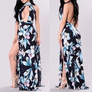 NWT Fashion Nova Vacation Days Coverup/Maxi Dress